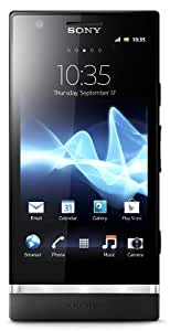 Sony Xperia P LT22i-BK Unlocked Phone with 8 MP Camera, Android 2.3 OS, Dual-Core Processor, and 4-Inch Touchscreen--U.S.Warranty (Black)