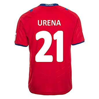 Buy Lotto Urena #21 Costa Rica Home Jersey World Cup 2014 by Lotto