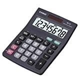 Brand New. Casio Calculator Desktop Battery/Solar-power 8 Digit 4 Key Memory 103x137x31mm Black Ref MS-8TV/MS-8S