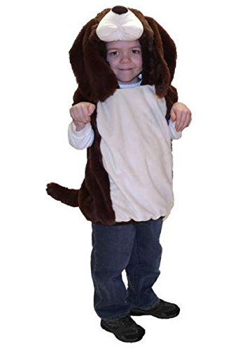 Totally Ghoul Plush Dog / Puppy Vest Toddler Halloween Costume