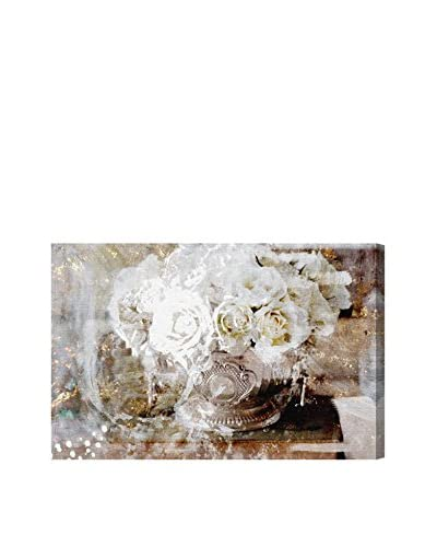 Oliver Gal Serving Roses Canvas Art