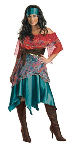 Disguise Womens Retro Sexy Bohemian Babe Gypsy Theme Party Halloween Costume