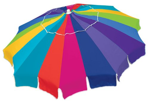 Rio Brands 7 ft Beach Ultimate Sun Umbrella