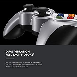 Wireless Game Controller for Logitech F710 2.4GHz, PC Game Durable Durable