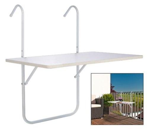 Hi tavolino da appendere alla ringhiera del balcone - Tavolo balcone ikea ...