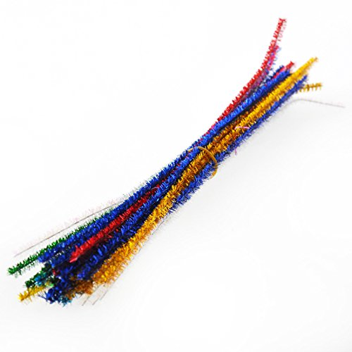 YazyCraft Soft Fuzzy Molding Sticks/Twist Stems for Craft and Decoration (25 Pack) - 1