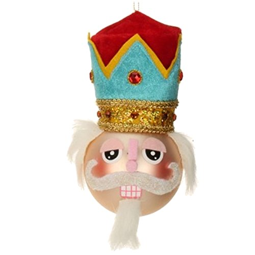 Nutcracker Bust Christmas Ornament 36-43807-B Mark Roberts
