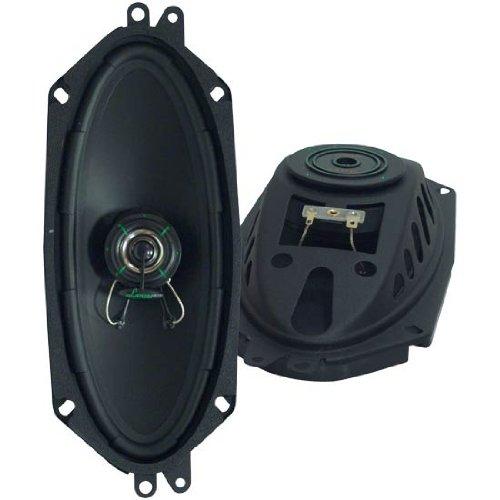 Lanzar Vx104S Vx 4-Inchx 10-Inch Two-Way Slim Mount Speaker System