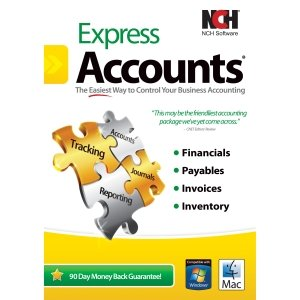 NCH SOFTWARE RET-EA001 / EXPRESS ACCOUNTS ACCOUNTING REPORTS INVENTORY PAYABLES FOR WMAC Accounting – PC, Mac