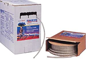 Easy heat 2102 100 39 freeze free cable reviews snow for Pex pipe freeze protection