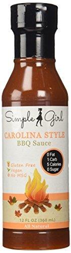 Carolina Style Sugar Free BBQ Sauce (Low Carb, Gluten Free, Diet Friendly)