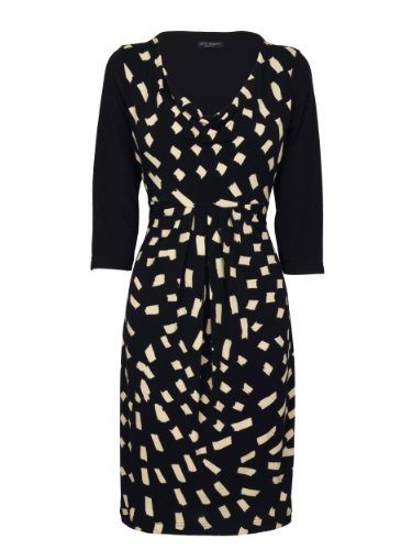 James Lakeland Half Sleeve Dress Black Size 10