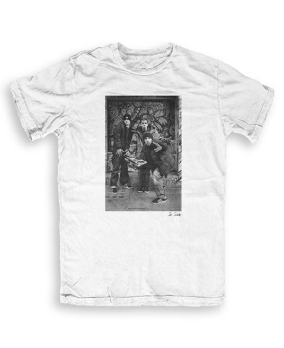 Don 't Talk To Me About Heroes - Boys Beastie - T-shirts by Tom Music Sheehan S To XXL ltext bianco Large