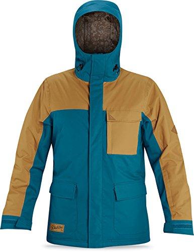 Dakine Men's Bishop Insulated Ski Snowboard Jacket Black Denim 8700038 Large