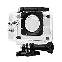 Outdoor Sport Action Camera Box Case Waterproof Case for SJCAM SJ4000 Wifi