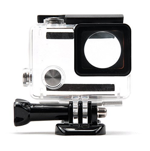 Waterproof-Hd-Dive-Housing-Case-for-Gopro-Hero4-Black-Sliver-Skeleton-Housing-75M-Deep