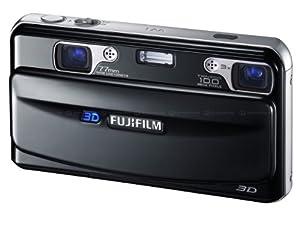 Fujifilm FinePix Real 3D W1 Camera - Black (10MP, 3x Optical Zoom) 3D/2D LCD