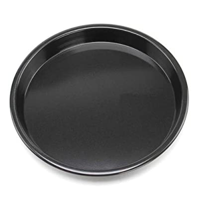 """6inch Black Round Coating Pizza Plate Aluminum Alloy Non-stick Pizza Plate"" shopping"