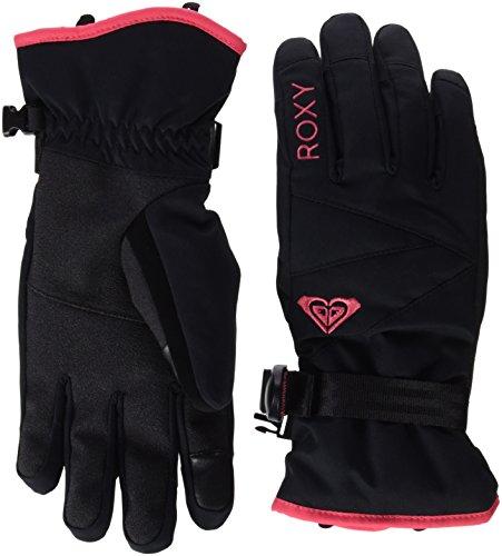 Roxy-Jetty-Guanti da sci, da donna, colore: nero, taglia: S (taglia del produttore: S)
