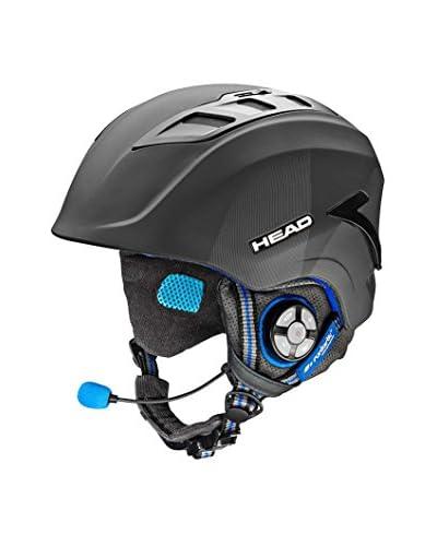 RUNTASTIC Casco Snowboard Head Cardio Bluetooth RN0862 XL (60-63cm) Antracita