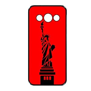 Vibhar printed case back cover for Samsung Galaxy E5 RedLiberty
