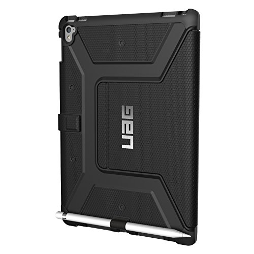 "Custodia a Portafoglio UAG per iPad Pro 9,7"" in Composito Leggerissimo Custodia per iPad Conforme ai Test Militari Anticaduta, Nero"