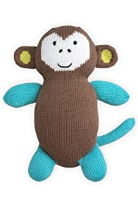 Joobles Organic Stuffed Animal - Mel the Monkey