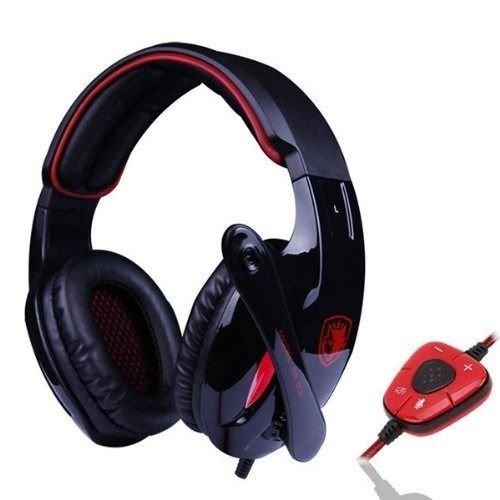 Sades Sa-902 7.1 Surround Sound Effect Usb Gaming Headset Headphone With Mic (Black)