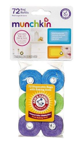 Munchkin Arm & Hammer Diaper Bag Refills - 72 Bags front-899465