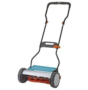 sale gardena 4024 15 inch silent push reel lawn mower. Black Bedroom Furniture Sets. Home Design Ideas