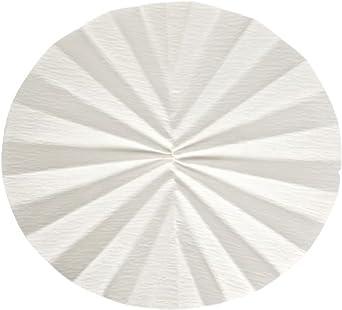 Whatman 10331653 Quantitative Folded Filter Paper, 15-19 Micron, Grade 520B II-1/2, 320mm Diameter (Pack of 50)