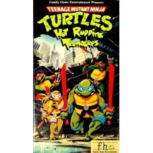 Teenage Mutant Ninja Turtles - Hot Rodding Teenagers [VHS]