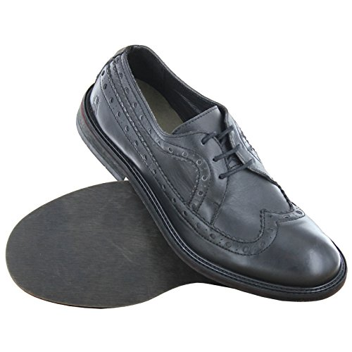 05. Fly London Wald Black Mens Shoes