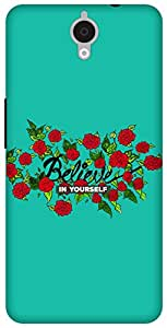 The Racoon Grip Believe hard plastic printed back case / cover for Alcatel Onetouch Idol X Plus 6043D
