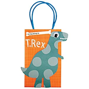 Meri Meri Dinosaur Party Bags - 8 ct