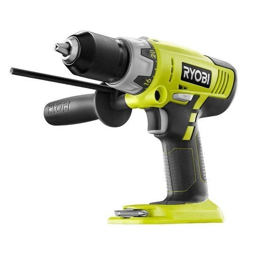 Ryobi ZRP213 ONE Plus 18V Cordless 2-Speed Hammer Drill (Green) (Bare Tool) (Certified Refurbished) (1 2 Hammer Drill Reconditioned compare prices)