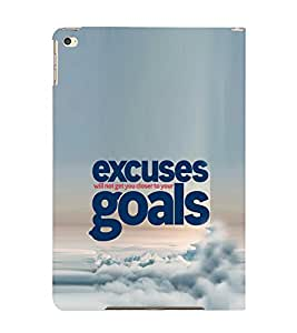 EPICCASE No Excuses for Success Mobile Back Case Cover For Apple Ipad Air 2 (Designer Case)