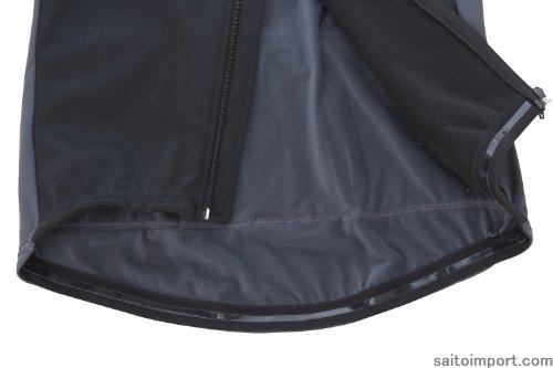 冬用ウインドブレークサイクルジャケット グレーM