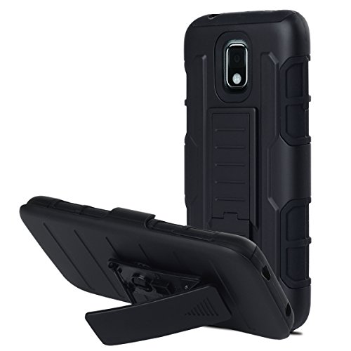 Note 3 Case, Galaxy Note 3 Case, BENTOBEN Full Protection Heavy Duty High Impact Dual Layer Samsung Galaxy Note 3 Case with Kickstand Belt Swivel Clip Holster Note 3 Case, Black&Black (Galaxy Note 3 Metal Belt Clip compare prices)