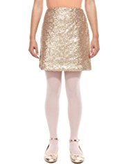 Autograph Sequin Embellished Skirt