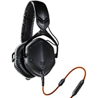 V-MODA Crossfade M-100 Over-Ear Noise-Isolating Metal Headphone (Matte Black) + V-MODA BoomPro VoIP Headset Mic