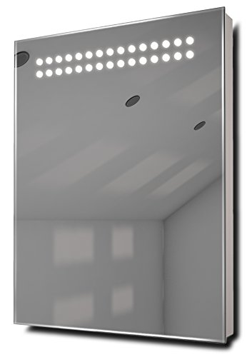 Reflect Ultra-Slim Led Bathroom Illuminated Mirror With Demister Pad & Sensor K8
