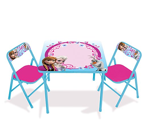 Kids Only Frozen Erasable Activity Table Set