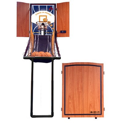 Fold-A-Hoop Cabinet Arcade Basketball Game-Competitive Edge Products