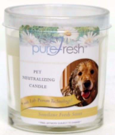 Hanna's At Home PureFresh Odor Neutralizing 4oz Candle: Pet