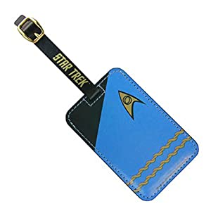 1 X Star Trek Blue Uniform Luggage Tag