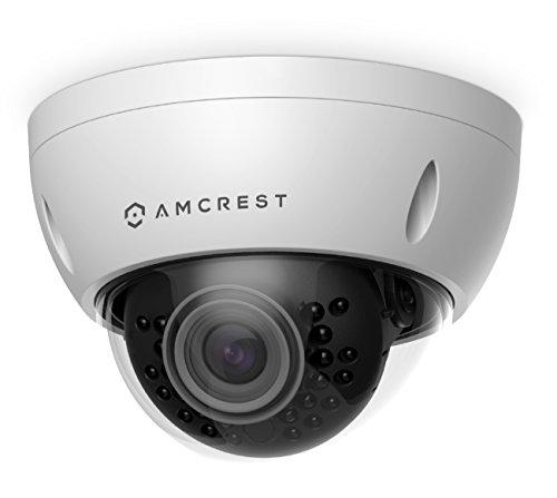 Amcrest-ProHD-Outdoor-3-Megapixel-POE-Vandal-Dome-IP-Security-Camera-IP67-Weatherproof-IK10-Vandal-Proof-3MP-2048-TVL-IP3M-956E-White