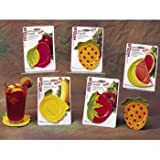 Melamine Fruit Coasters [60 Pieces] *** Product Description: Catch The Drips From An Icy Drink With These Bright And Fanciful Fruit Coasters. Made From Melamine, They Are Durable To Withstand Patio Or Poolside Use. Also May Double As A Small Appe ***