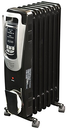 NewAir AH-450B Electric Oil-Filled Space Heater, Black (Oil Filled Heater Switch compare prices)