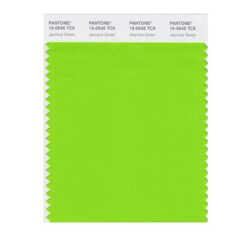 PANTONE SMART 15-0545X Color Swatch Card, Jasmine Green - Wall Decor
